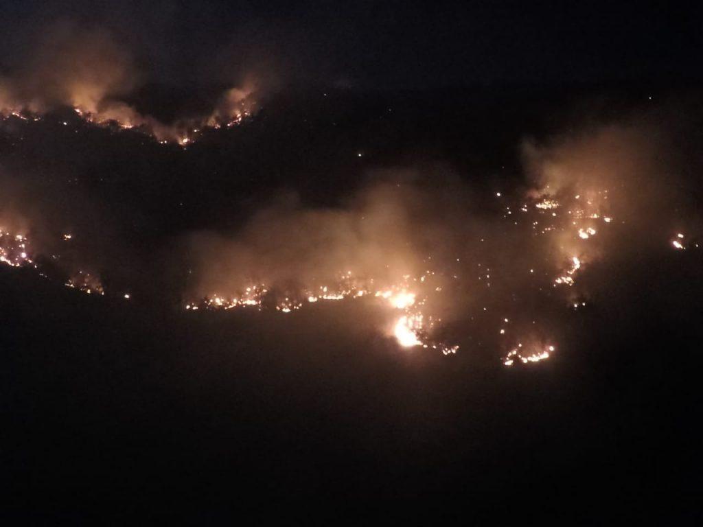 Incêndio na Serra do Lima, RN, é controlado após 5 dias, diz Corpo de Bombeiros