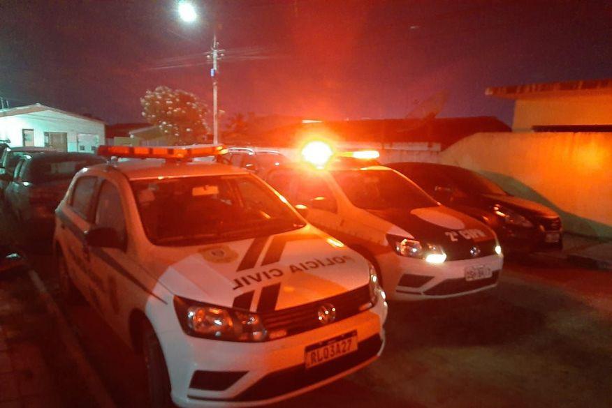 Operação da Polícia Civil prende dez pessoas e desarticula facção criminosa no município de Jacaraú